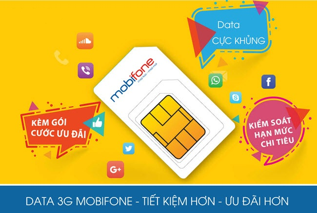 the data 3g mobifone